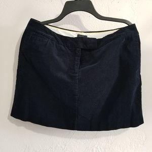 J crew cordory skirt